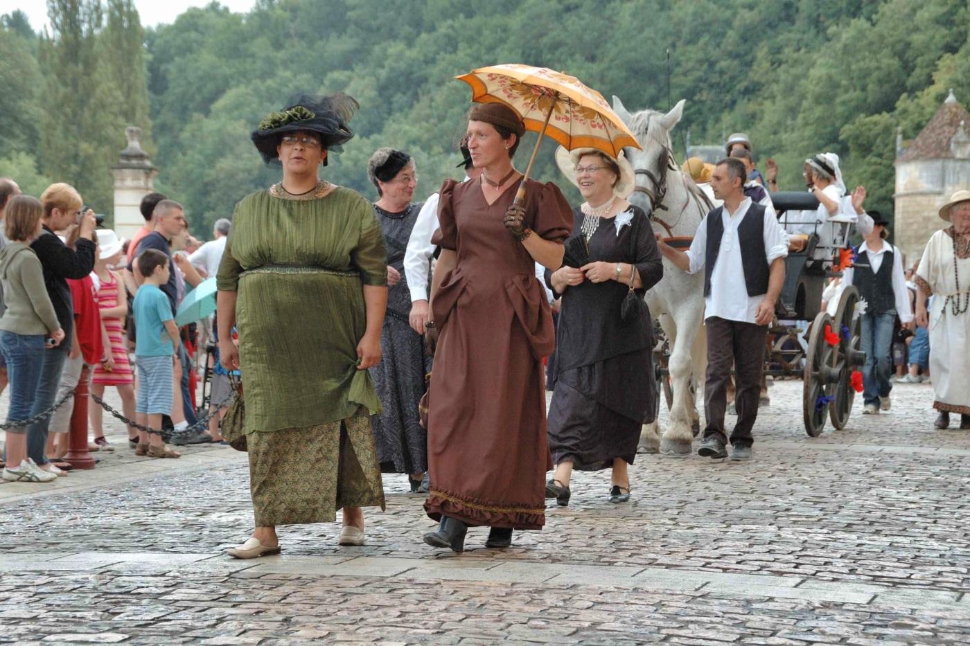Historische Heimatfeste in Frankreich